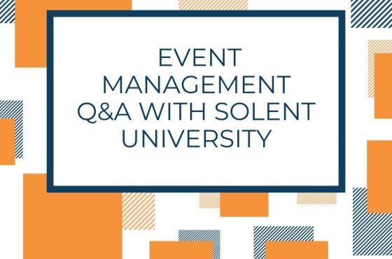 Event Management Q&A with Solent University